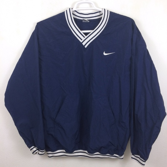 fast delivery super cheap best authentic Nike | Vintage Mens Navy Pull Over Large